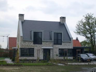 zinken dakkapel moderne woning
