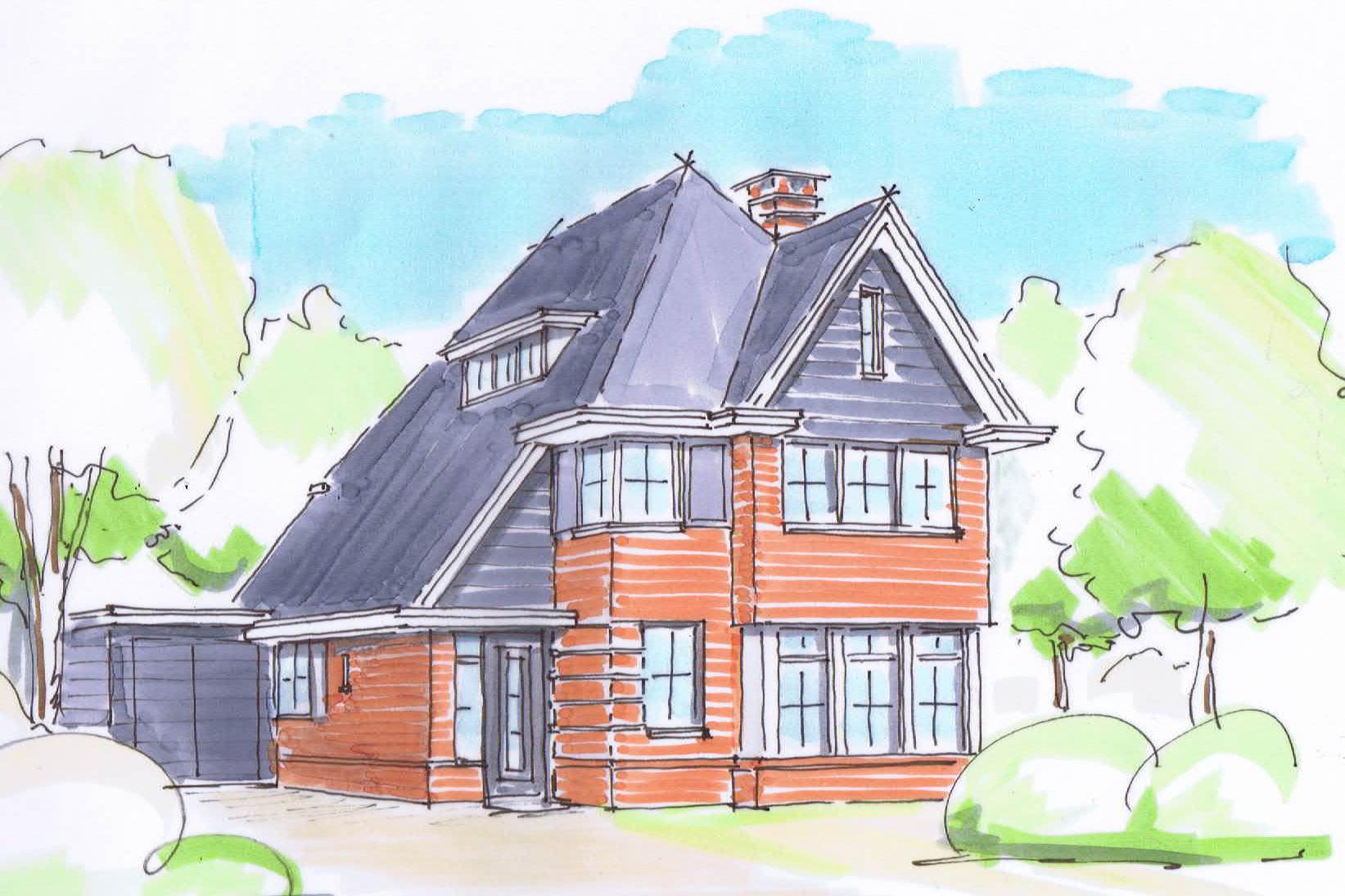 #A4452722383504 Nieuwbouw Jaren 30 Villa Doorn Meest recente Klassieke Woning 3591 pic 164310953591 Ontwerp